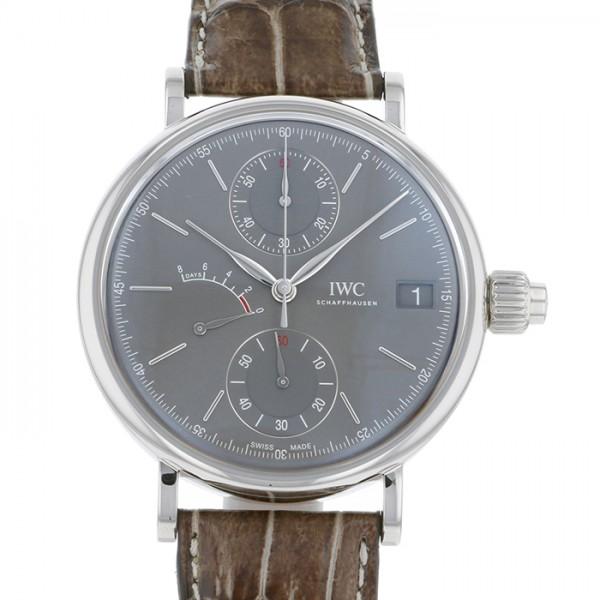 IWC IWC ポートフィノ ハンドワインド モノプッシャー IW515103 グレー文字盤 メンズ 腕時計 【未使用】