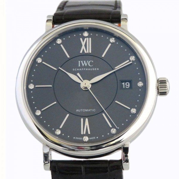 IWC IWC ポートフィノ ミッドサイズ IW458102 グレー文字盤 メンズ 腕時計 【新品】