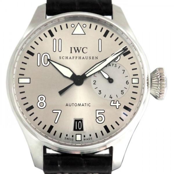IWC IWC パイロットウォッチ ファザー&サン IW500906 シルバー文字盤 メンズ 腕時計 【新品】