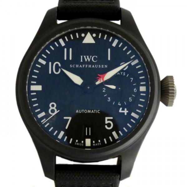 IWC IWC パイロットウォッチ ビッグパイロット トップガン IW501901 ブラック文字盤 メンズ 腕時計 【新品】