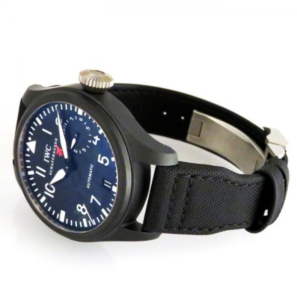 【全品 ポイント10倍 16日1:59まで 要エントリー】IWC IWC パイロットウォッチ ビッグパイロット トップガン IW501901 ブラック文字盤 メンズ 腕時計 【新品】