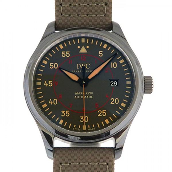IWC IWC パイロットウォッチ マーク XVIII トップガン ミラマー IW324702 チャコールグレー文字盤 メンズ 腕時計 【新品】