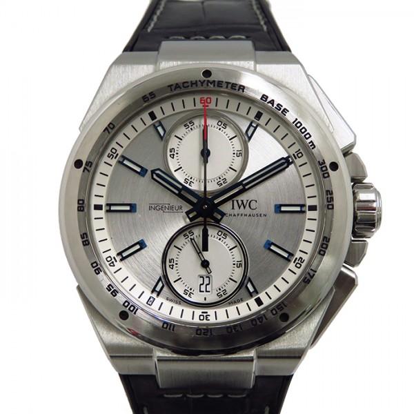IWC IWC インヂュニア クロノグラフレーサー IW378509 シルバー文字盤 メンズ 腕時計 【中古】