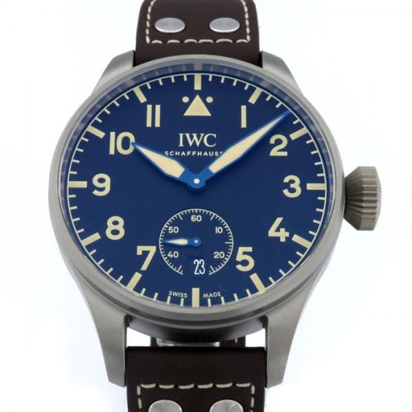 【期間限定ポイント5倍 5/5~5/31】 IWC IWC パイロットウォッチ ビッグ・パイロット・ヘリテージ・ウォッチ 48 世界限定1000本 IW510301 ブラウン文字盤 メンズ 腕時計 【新品】