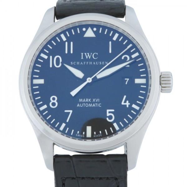 IWC IWC パイロットウォッチ マークXVI IW325501 ブラック文字盤 メンズ 腕時計 【中古】