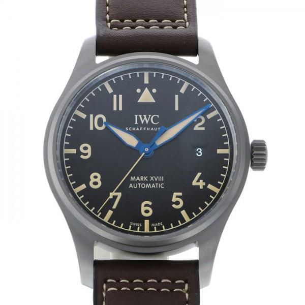 IWC IWC パイロットウォッチ マークXVIII ヘリテージ IW327006 ブラック文字盤 メンズ 腕時計 【新品】