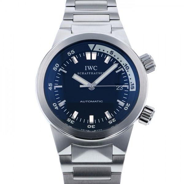 IWC IWC アクアタイマー オートマティック IW354805 ブラック文字盤 メンズ 腕時計 【中古】