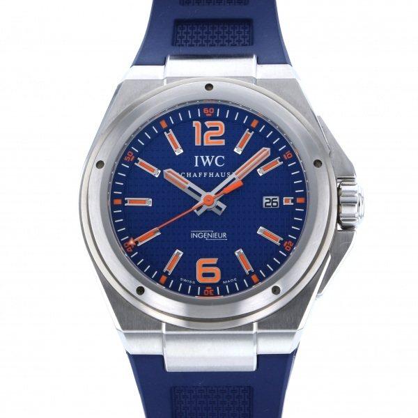 IWC IWC インヂュニア オートマティック アドベンチャー エコロジー IW323603 ブルー文字盤 メンズ 腕時計 【中古】