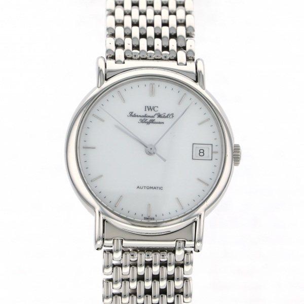 【期間限定ポイント5倍 5/5~5/31】 IWC IWC ポートフィノ IW3513 ホワイト文字盤 メンズ 腕時計 【中古】