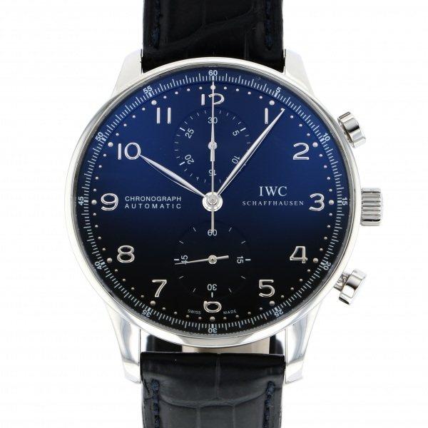 雑誌で紹介された IWC メンズ クロノグラフ ポルトギーゼ クロノグラフ ブラック文字盤 IW371447 ブラック文字盤 腕時計 メンズ, Happy pair:775759d1 --- baecker-innung-westfalen-sued.de