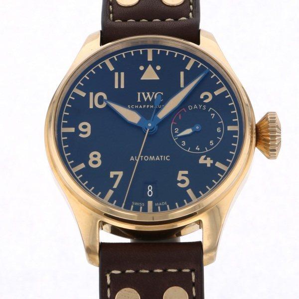 IWC IWC パイロットウォッチ ビッグ ヘリテージ IW501005 ブラック文字盤 メンズ 腕時計 【新品】