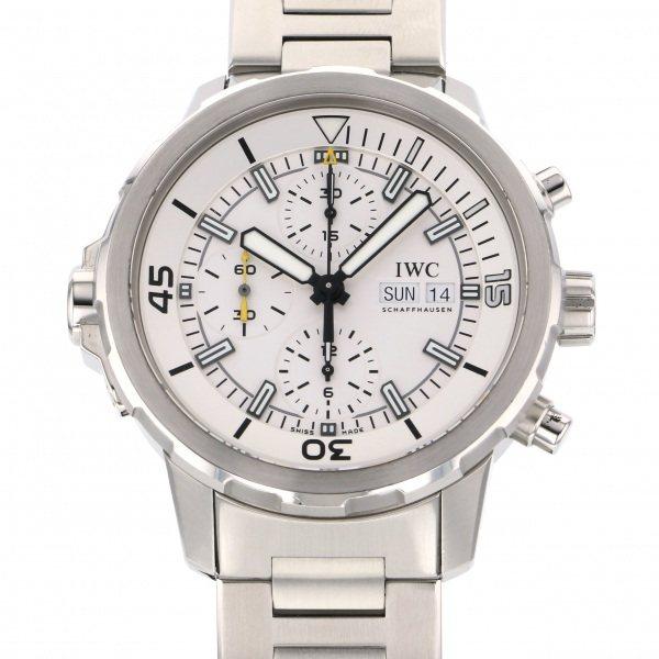 IWC IWC アクアタイマー クロノグラフ IW376802 シルバー文字盤 メンズ 腕時計 【中古】