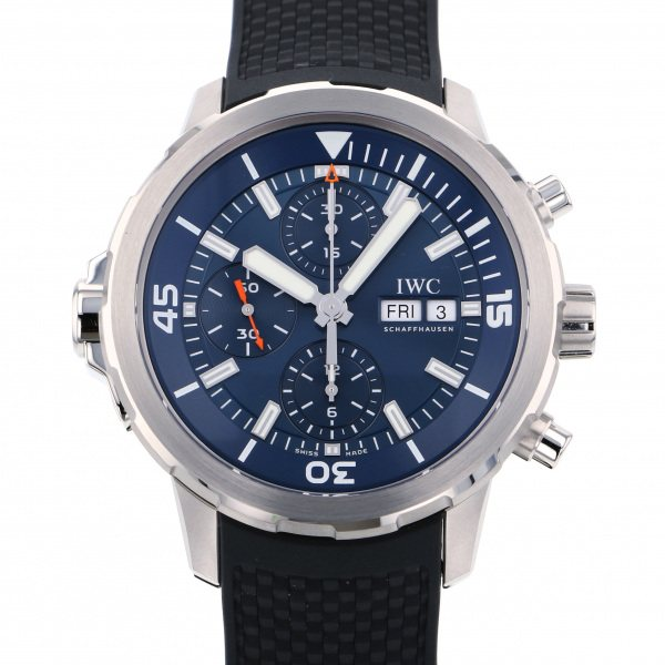 IWC IWC アクアタイマー クロノグラフ エクスペディション・ジャック=イヴ・クストー IW376805 ブルー文字盤 メンズ 腕時計 【新品】