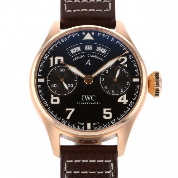 IWC IWC その他 ビッグ パイロット ウォッチ アニュアルカレンダー アントワーヌ・ド・サンテグジュペリ IW502706 ブラウン文字盤 メンズ 腕時計 【新品】