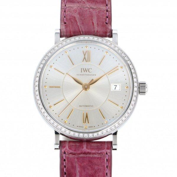 IWC IWC ポートフィノ ミッドサイズ IW458112 シルバー文字盤 レディース 腕時計 【新品】