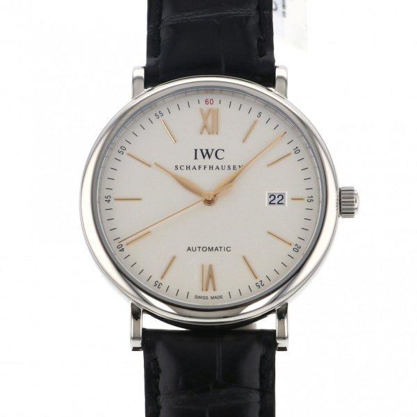 IWC IWC ポートフィノ IW356517 シルバー文字盤 メンズ 腕時計 【新品】