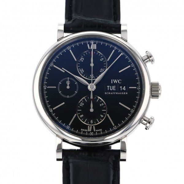 【期間限定ポイント5倍 5/5~5/31】 IWC IWC ポートフィノ クロノグラフ IW391029 ブラック文字盤 メンズ 腕時計 【新品】