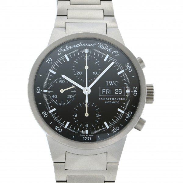 IWC IWC その他 GST クロノグラフ IW370703 ブラック文字盤 メンズ 腕時計 【中古】