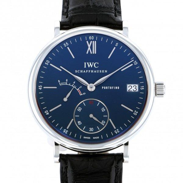 IWC IWC ポートフィノ ハンドワインド 8デイズ IW510106 ブルー文字盤 メンズ 腕時計 【新品】
