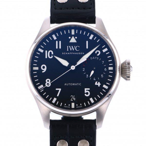 数量限定セール  IWC ビッグ パイロットウォッチ IW500912 ブラック文字盤 新品 腕時計 メンズ, ヒガシムラ ae40339f