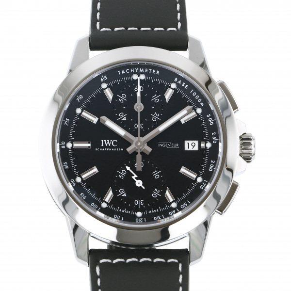 IWC IWC インヂュニア クロノグラフ スポーツ IW380901 ブラック文字盤 メンズ 腕時計 【新品】