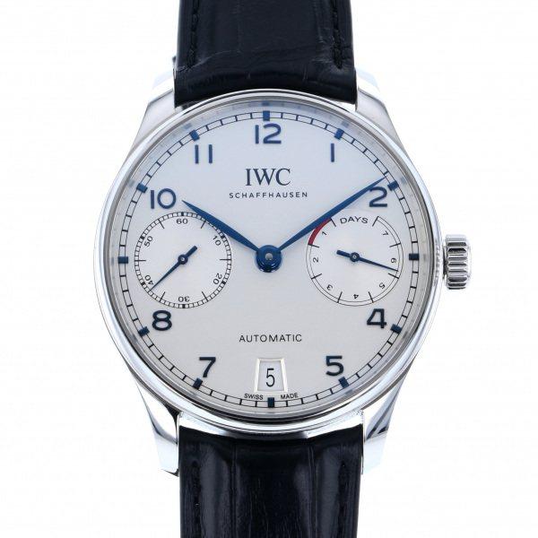 IWC IWC ポルトギーゼ オートマティック 7デイズ IW500705 シルバー文字盤 メンズ 腕時計 【新品】