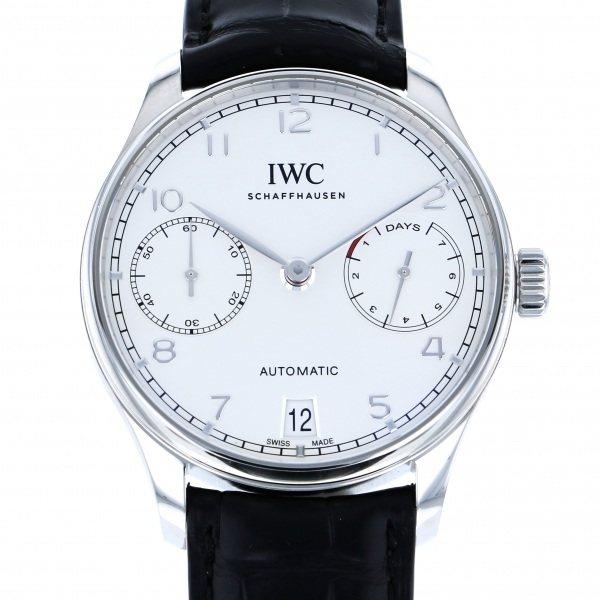 IWC IWC ポルトギーゼ オートマティック 7デイズ IW500712 シルバー文字盤 メンズ 腕時計 【新品】