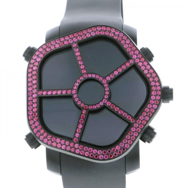 ジェイコブ JACOB&CO ゴースト JC-GST-RB ブラック文字盤 メンズ 腕時計 【新品】