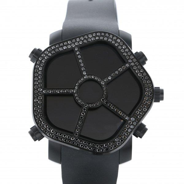 ジェイコブ JACOB&CO ゴースト JC-GST-BKD2.9 ブラック文字盤 メンズ 腕時計 【新品】
