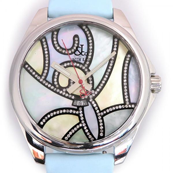 ジェイコブ JACOB&CO その他 ワンタイムゾーン JC-TZ21 ブルー文字盤 メンズ 腕時計 【新品】