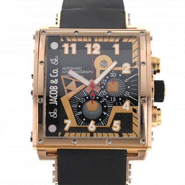 <title>ジェイコブ JACOBCO 正規取扱店 エピック I JC-V2Q3RGI ブラック文字盤 中古 腕時計 メンズ</title>