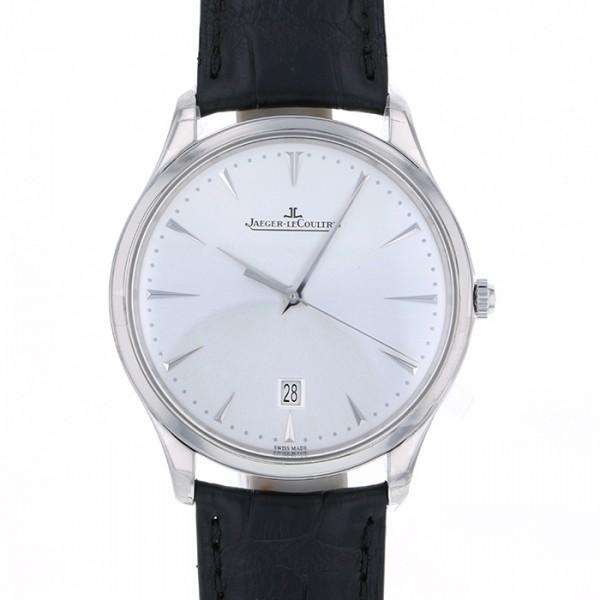 品揃え豊富で ジャガー・ルクルト JAEGER LE COULTRE マスター ウルトラスリム・デイト Q1288420 シルバー文字盤 新品 腕時計 メンズ, シントミチョウ 96dde428