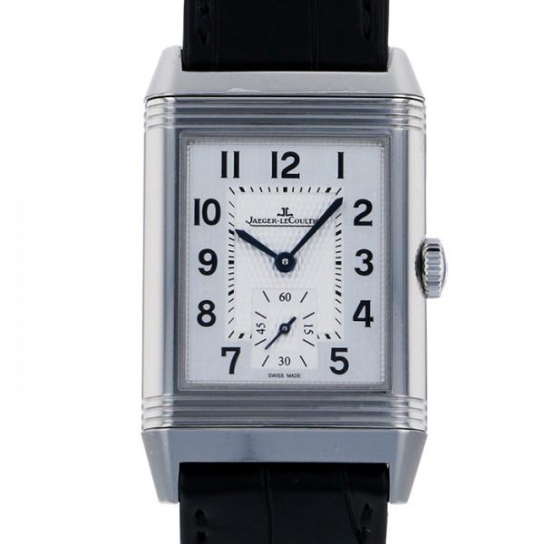 ジャガー・ルクルト JAEGER LE COULTRE レベルソ クラシック ラージ スモールセコンド Q3858520 シルバー文字盤 メンズ 腕時計 【新品】