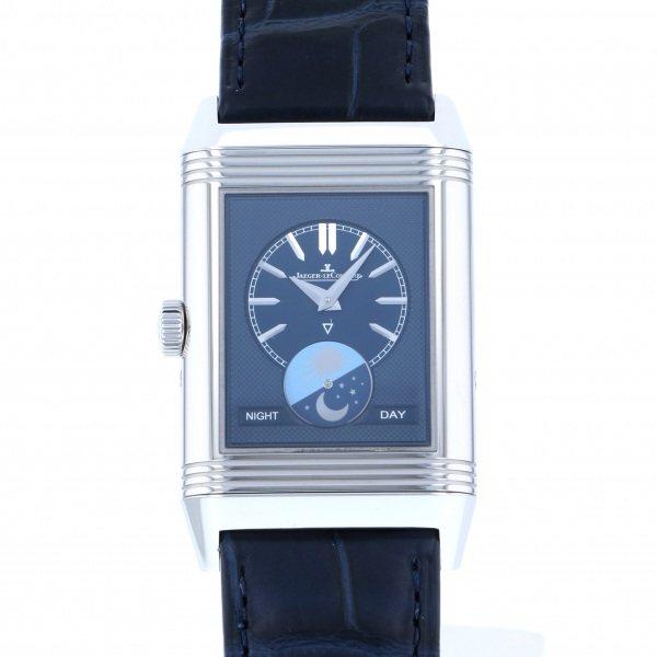 ジャガー・ルクルト JAEGER LE COULTRE レベルソ トリビュート ムーン Q3958420 シルバー文字盤 メンズ 腕時計 【新品】