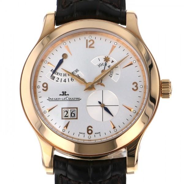ジャガー・ルクルト JAEGER LE COULTRE マスター 8デイズ 146.2.17 シルバー文字盤 メンズ 腕時計 【中古】