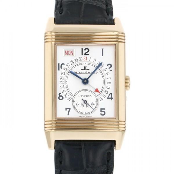 ジャガー・ルクルト JAEGER LE COULTRE レベルソ デイト 270.2.36 シルバー文字盤 メンズ 腕時計 【中古】