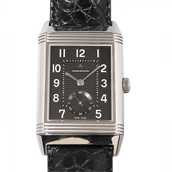 ジャガー・ルクルト JAEGER LE COULTRE レベルソ Q3738470 ブラック文字盤 メンズ 腕時計 【中古】