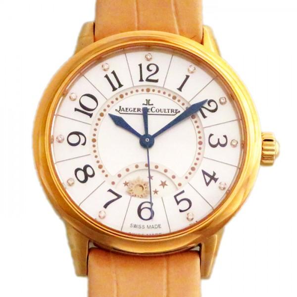 ジャガー・ルクルト JAEGER LE COULTRE ランデヴー ナイト&デイ Q3462590 ホワイト文字盤 レディース 腕時計 【新品】