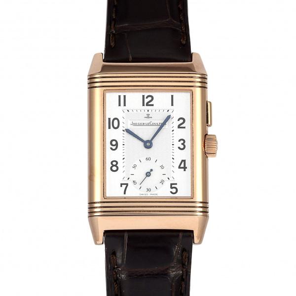 ジャガー・ルクルト JAEGER LE COULTRE レベルソ デュオ Q2712510 シルバー文字盤 メンズ 腕時計 【新品】