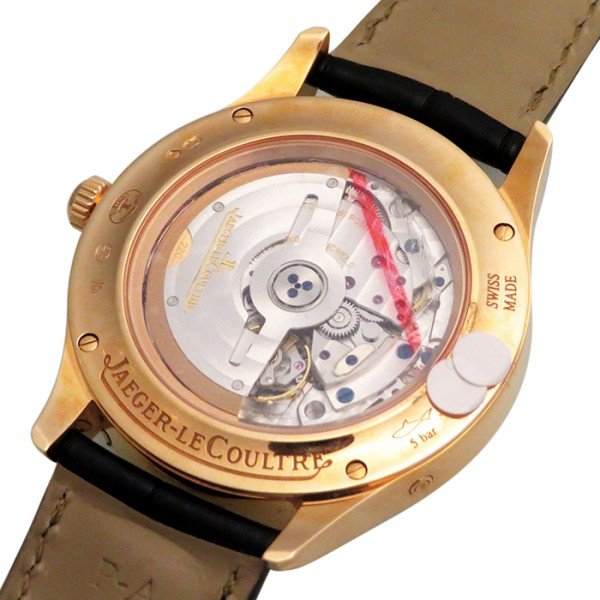 【全品 ポイント10倍 16日1:59まで 要エントリー】ジャガー・ルクルト JAEGER LE COULTRE マスター カレンダー Q1552520 ホワイト文字盤 メンズ 腕時計 【新品】