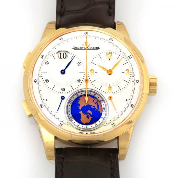 ジャガー・ルクルト JAEGER LE COULTRE その他 デュオメトル ユニーク トラベルタイム Q6062520 シルバー文字盤 メンズ 腕時計 【新品】