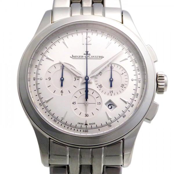 ジャガー・ルクルト JAEGER LE COULTRE マスター クロノグラフ Q1538120 シルバー文字盤 メンズ 腕時計 【新品】