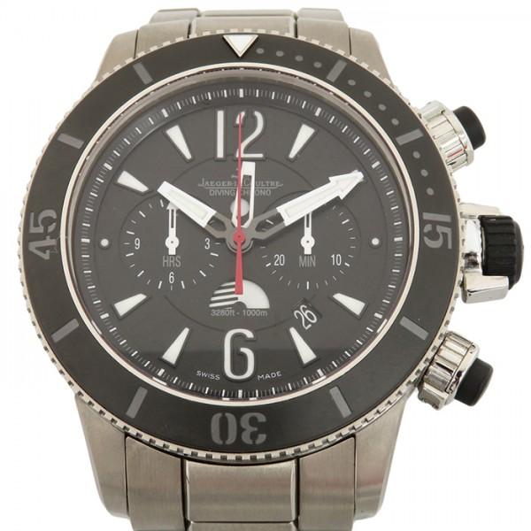 ジャガー・ルクルト JAEGER LE COULTRE マスター コンプレッサー Q178T170 ブラック文字盤 メンズ 腕時計 【中古】