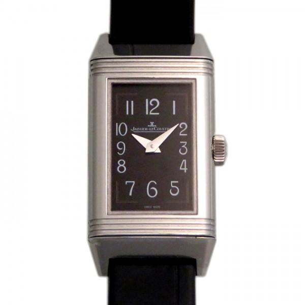 ジャガー・ルクルト JAEGER LE COULTRE レベルソ ワン 復刻版 Q3258470 ブラック文字盤 レディース 腕時計 【新品】