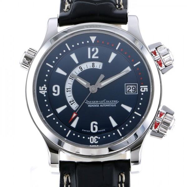 ジャガー・ルクルト JAEGER LE COULTRE マスター コンプレッサー メモボックス Q1706480 ネイビー文字盤 メンズ 腕時計 【中古】
