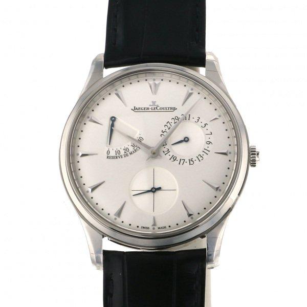 【期間限定ポイント5倍 5/5~5/31】 ジャガー・ルクルト JAEGER LE COULTRE マスター ウルトラスリム リザーブ ド マルシェ Q1378420 シルバー文字盤 メンズ 腕時計 【新品】