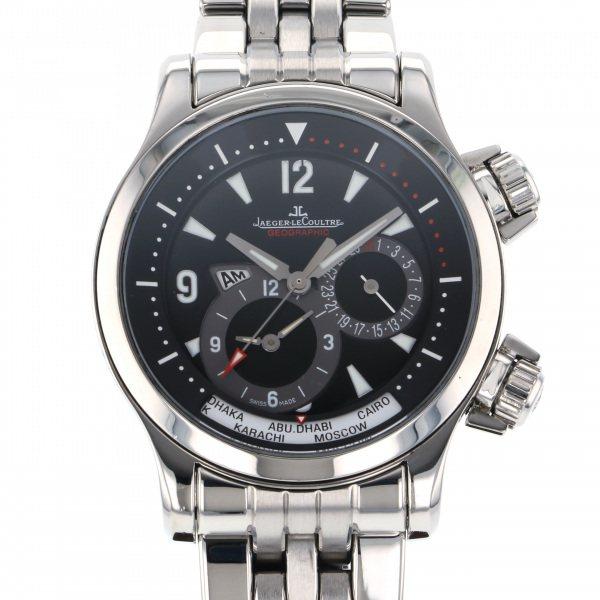 ジャガー・ルクルト JAEGER LE COULTRE マスター コンプレッサー ジオグラフィーク Q1718170 ブラック文字盤 メンズ 腕時計 【中古】