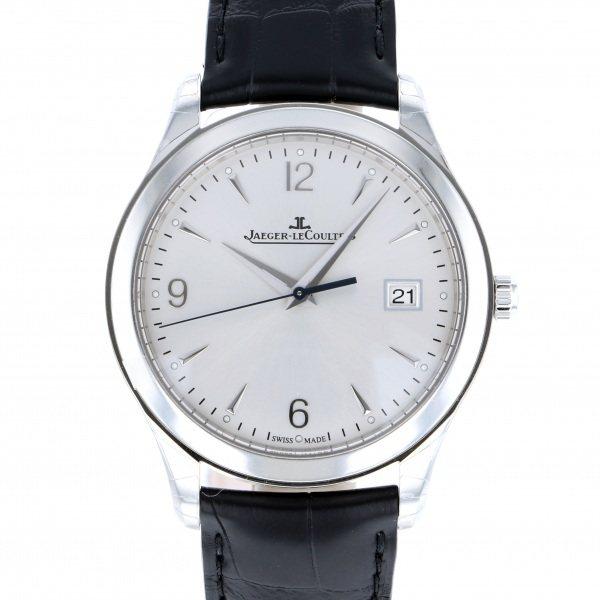 【期間限定ポイント5倍 5/5~5/31】 ジャガー・ルクルト JAEGER LE COULTRE マスター コントロール Q1548420 シルバー文字盤 メンズ 腕時計 【新品】