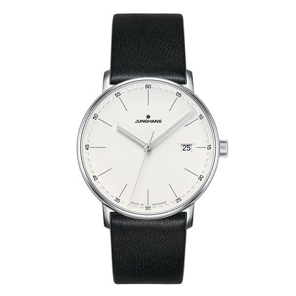 【期間限定ポイント5倍 5/5~5/31】 ユンハンス JUNGHANS フォーム 041 4884 00 シルバー文字盤 メンズ 腕時計 【新品】