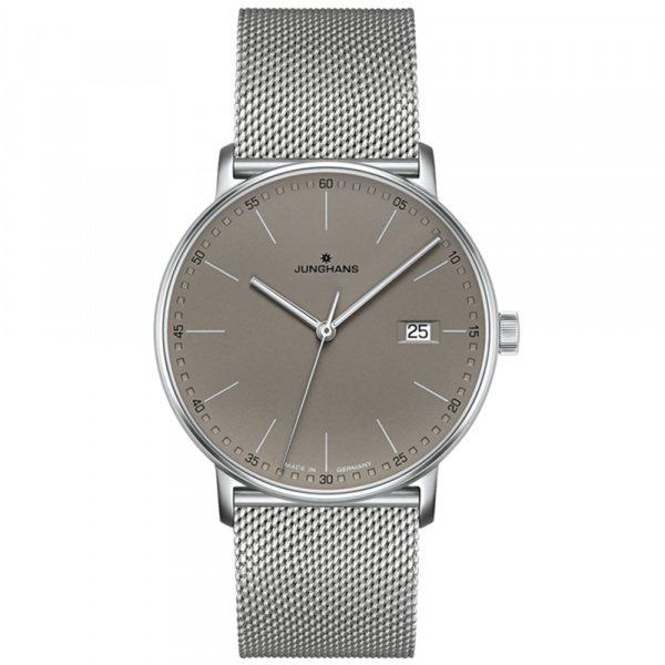 ユンハンス JUNGHANS フォーム 041 4886 44 グレー文字盤 メンズ 腕時計 【新品】